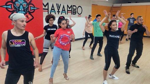 Bachata Body Movement at Mayambo